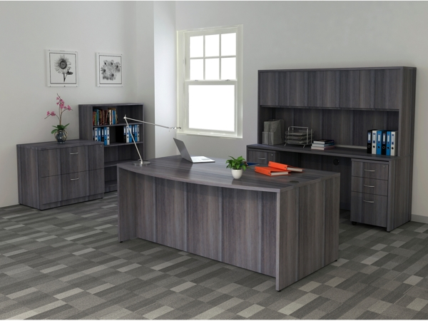 Lorell Essentials office charcoal